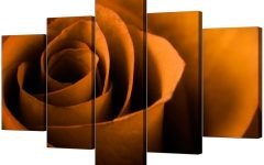 Orange Canvas Wall Art