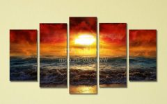 5 Panel Wall Art