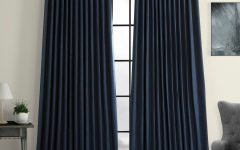 Faux Linen Extra Wide Blackout Curtains
