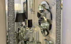 Glitter Wall Mirrors
