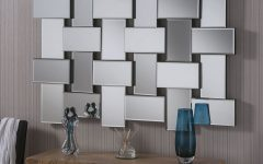 Multi Panel Wall Mirrors