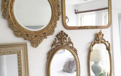 Small Vintage Wall Mirrors