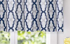 Trellis Pattern Window Valances