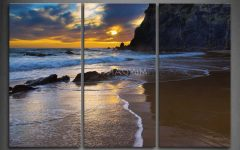 3 Piece Beach Wall Art