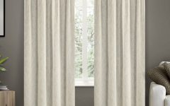 Belgian Sheer Window Curtain Panel Pairs With Rod Pocket