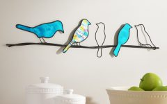Birds on a Wire Wall Décor by Winston Porter