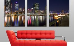 Brisbane Canvas Wall Art