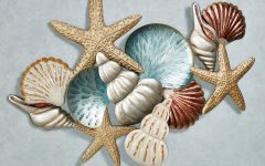 Seaside Metal Wall Art