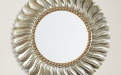 Karn Vertical Round Resin Wall Mirrors