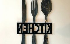 Kitchen Metal Wall Art