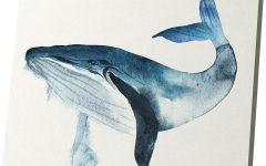 Whale Canvas Wall Art