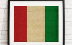 Italian Flag Wall Art