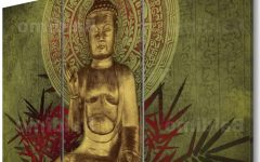 Large Buddha Wall Art