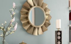 Vertical Round Wall Mirrors