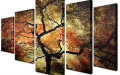 Multi Piece Canvas Wall Art