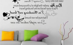 Music Lyrics Wall Art