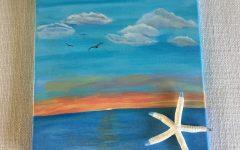 Abstract Nautical Wall Art