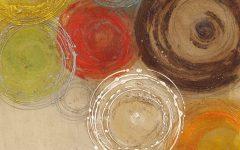 Abstract Circles Wall Art