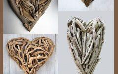 Driftwood Heart Wall Art