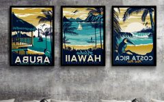 Hawaii Canvas Wall Art