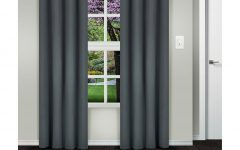 Superior Solid Insulated Thermal Blackout Grommet Curtain Panel Pairs