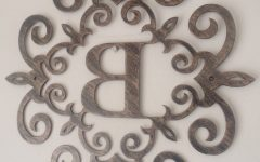 Metal Letter Wall Art