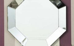 Octagon Wall Mirrors