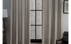 Sugar Creek Grommet Top Loha Linen Window Curtain Panel Pairs