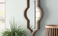 Padang Irregular Wood Framed Wall Mirrors