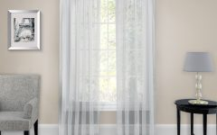 Pairs to Go Victoria Voile Curtain Panel Pairs