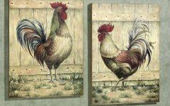 Metal Rooster Wall Art