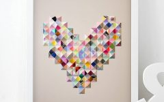 Heart 3d Wall Art