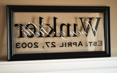 Personalized Last Name Wall Art
