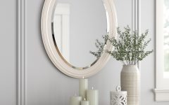 Pfister Oval Wood Wall Mirrors