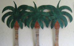 Palm Tree Metal Art