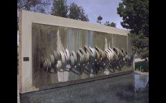 Outdoor Wall Sculpture Art