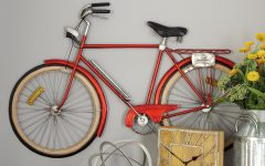 Metal Bicycle Wall Decor