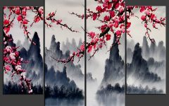 Asian Wall Art Panels