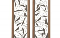 2 Piece Panel Wood Wall Decor Sets (Set Of 2)