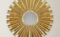 Birksgate Sunburst Accent Mirrors