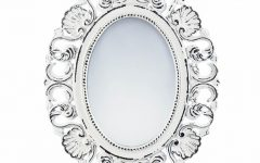 Decorative Etched Wall Mirrors