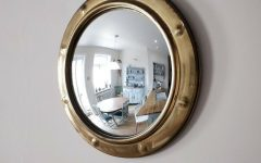 Round Convex Wall Mirrors