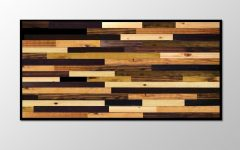 Stained Wood Wall Art