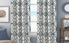 Primebeau Geometric Pattern Blackout Curtain Pairs
