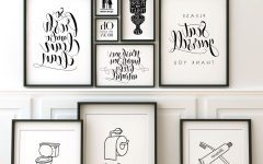 Bathroom Wall Art Decors