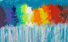 Rainbow Canvas Wall Art