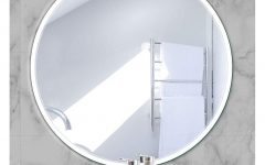 Frameless Round Wall Mirrors