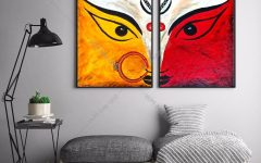 India Abstract Wall Art