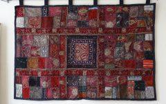 Indian Fabric Wall Art