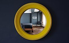 Yellow Wall Mirrors